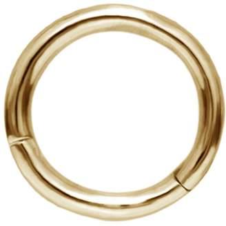 Maria Tash 6.5mm High Polish Hoop Earring - Yellow Gold