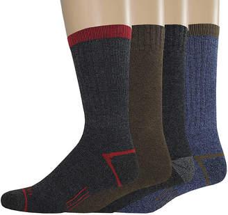 Dickies Mens 4-pk. Thermal Crew Socks