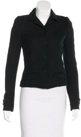 Balenciaga Balenciaga Mohair & Wool-Blend Coat