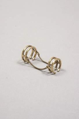 Jenny Bird Double Chain Ring