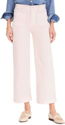 J.Crew Point Sur Washed Wide Leg Crop Pants