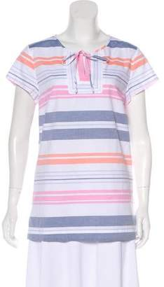 Tommy Bahama Striped Short Sleeve Top