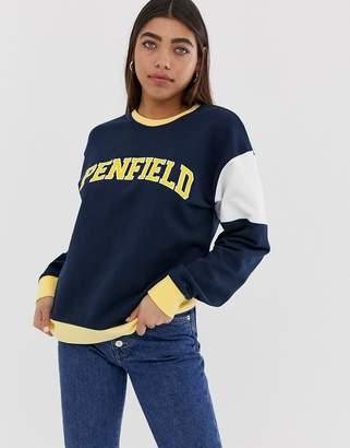 Penfield Thayer colour block sweatshirt