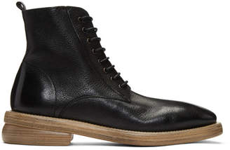 Marsèll Black Dodone Lace-Up Boots