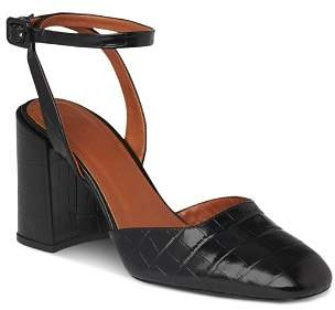 Whistles Women's Crescent Block Heel Mary Jane Pumps