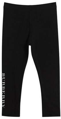 Burberry Penny Logo Leggings, Size 3-14