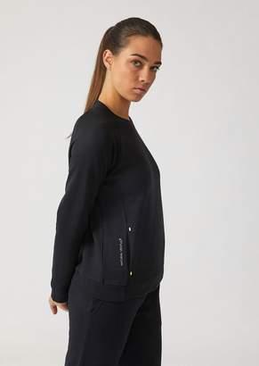 Emporio Armani Ea7 Breathable Ventus 7 Technical Fabric Sweatshirt