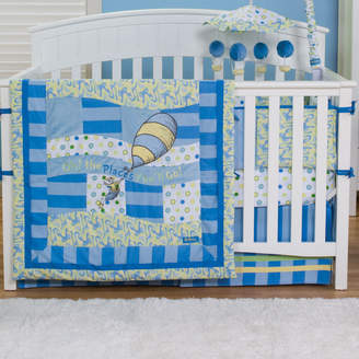 Trend Lab Dr. Seuss Oh The Places You'll Go! 4 Piece Crib Bedding Set