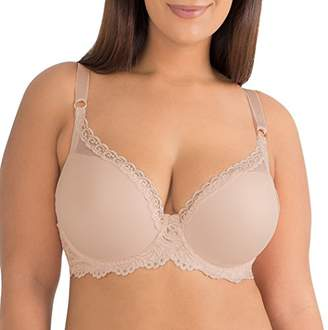 Smart & Sexy Smart+Sexy Women's Plus Size Curvy Plunge Light Lined Bra with Added Support