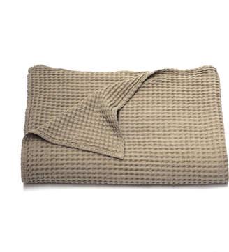 Area Sally Waffle Cotton Blanket