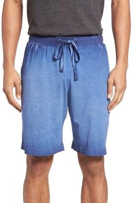 Men's Daniel Buchler Vintage Wash Cotton Lounge Shorts $68 thestylecure.com