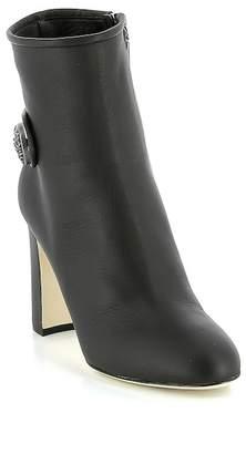Dolce & Gabbana Decorative Logo Ankle Boot