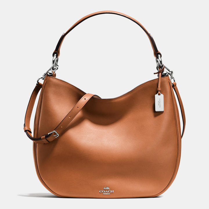 Coach   COACH Coach Nomad Hobo In Glovetanned Leather
