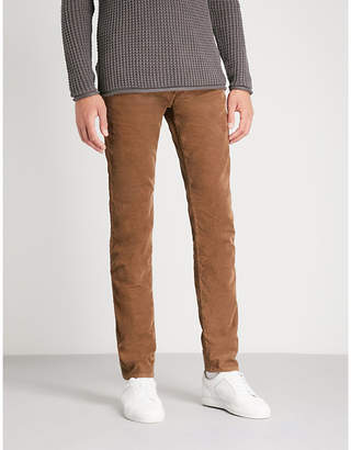 Replay Slim-fit tapered corduroy trousers