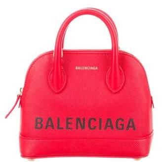 Balenciaga 2018 Ville XXSmall Top Handle Bag