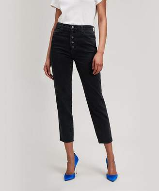 J Brand Heather Crop Straight Jean