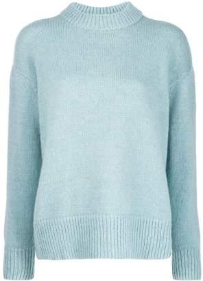 Masscob ribbed neck sweater
