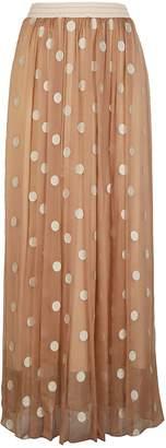 D-Exterior D. Exterior Polka Dot Skirt