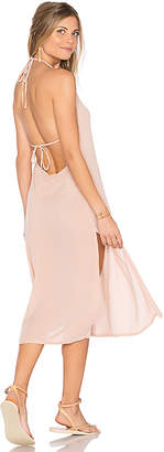 Cleobella Radium Midi Dress in Blush $139 thestylecure.com