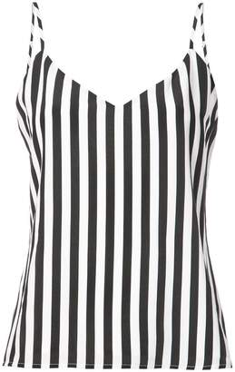 L'Agence striped cami top