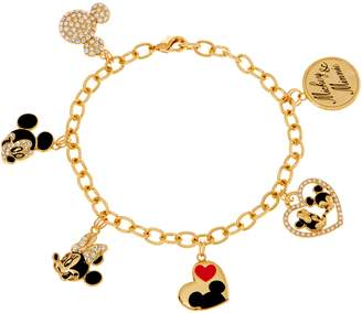 Disney Mickey's 90th Birthday Mickey & Minnie Charm Bracelet