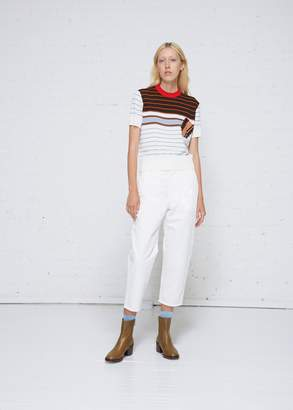 Marni High Waist Crop Pant
