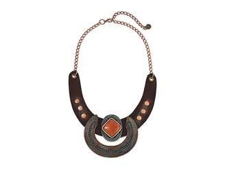 Leather Rock Thalia Necklace