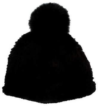58a5d88d8 Fur Pom Pom Hat - ShopStyle