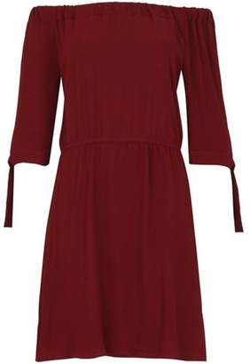 Dorothy Perkins Womens *Izabel London Wine Dress