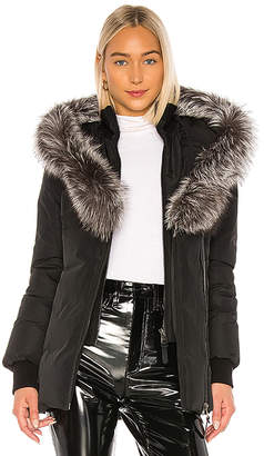 Mackage Adali Jacket With Fox Fur Collar