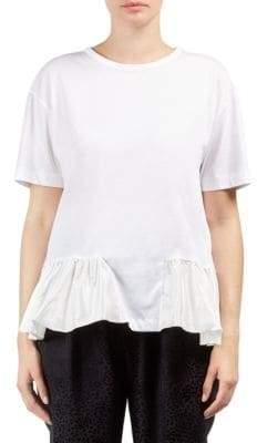 Stella McCartney Ruffle-Trimmed T-Shirt
