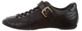 Louis Vuitton Logo Low-Top Sneakers