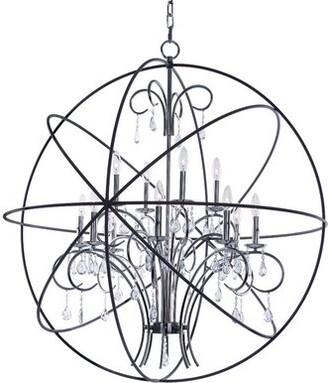 Maxim Lighting Orbit 12-Light Globe Chandelier Maxim Lighting