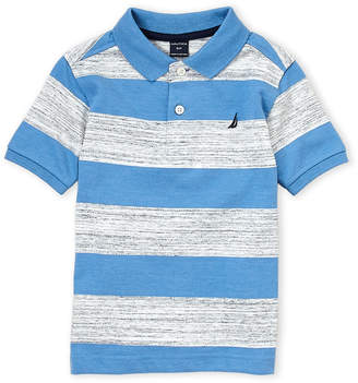 Nautica Boys 4-7) Rugby Stripe Polo