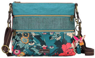 The Sak 107214 Artist Circle Zip Top Crossbody Bag