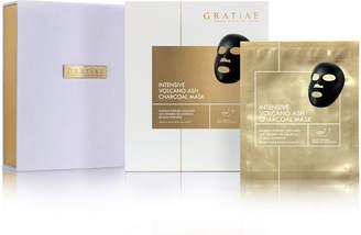 Ash Gratiae Cosmetics Intensive Volcano Charcoal Mask, Set of 12