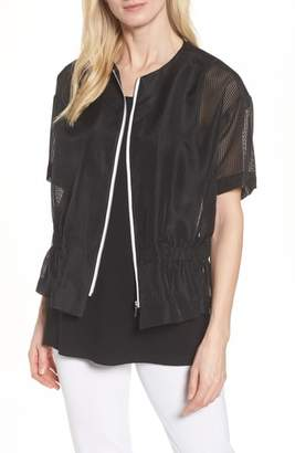 Ming Wang Mesh Jacket