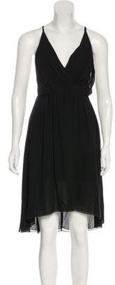 Alice + Olivia Sleeveless Silk Midi Dress w/ Tags