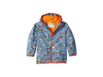 Hatley Robotic Dinos Microfiber Rain Jacket (Toddler/Little Kids/Big Kids)