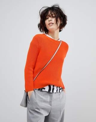 HUGO Signature Ribbed Sweater