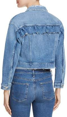 Joe's Jeans Ruffle Denim Jacket in Holmby - 100% Exclusive