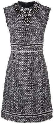 Giambattista Valli Embellished Boucle Tweed Dress
