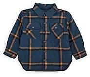 Stella McCartney Infants' Reversible Shirt Jacket - Navy