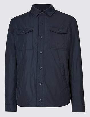Marks and Spencer Padded Shirt Jacket with StormwearTM