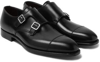 Thomas Laboratories George Cleverley Leather Monk-Strap Shoes