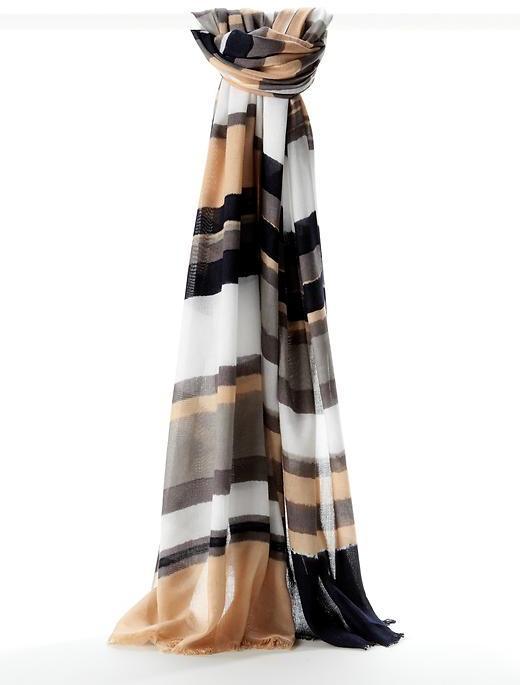 Abigail stripe scarf