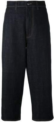 Marni wide leg cropped jeans