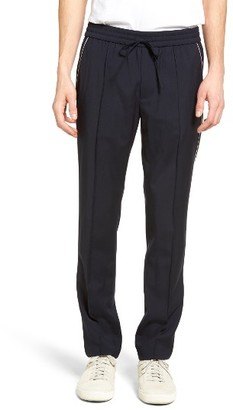 Men's Vince Piped Wool Track Pants $325 thestylecure.com