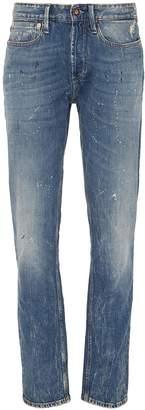 Denham Jeans 'Forge' paint splatter jeans