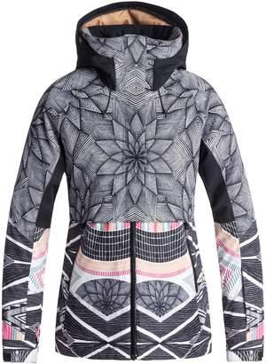 Roxy Frozen Flow Hooded Ski Jacket